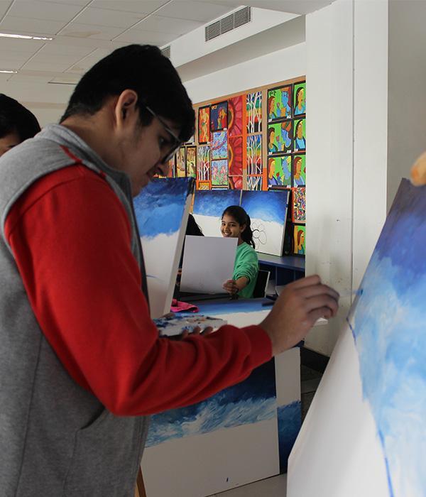 Painting Club || Lotus Valley International, Gurgaon