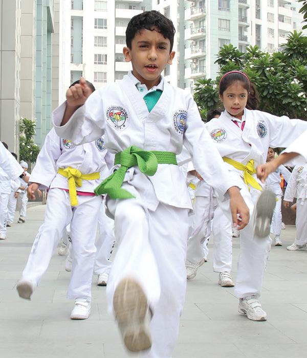 Taekwondo Club || Lotus Valley International, Gurgaon